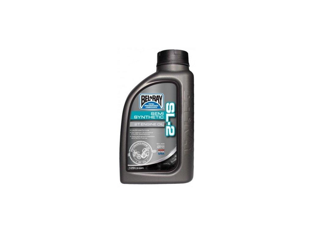 bel ray motorovy olej sl 2 semi synthetic 2t 1l lahev