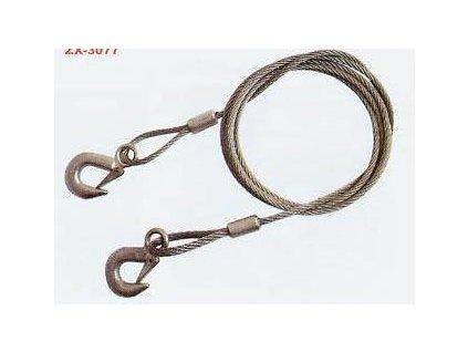 3234 ocelove tazne lano delka 3 6m max 3000kg
