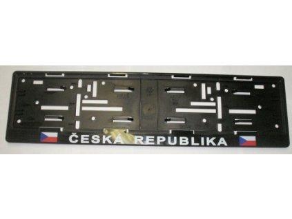 4824 podlozka pod spz s vlajkou cr