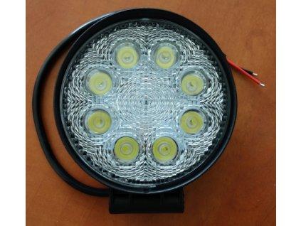 3408 pracovni led svetlo kulate 10 30v dc 9x3w 128x110x45mm