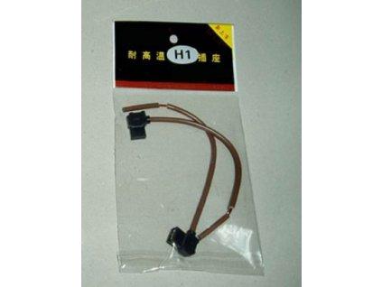 3264 svorkovnice zarovky h1 s kabely plastova par