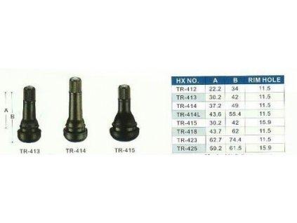 3444 uplny ventil pro bezdusova kola