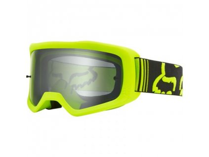 FOX Main II Race Goggle-OS-Fluo Yellow MX20