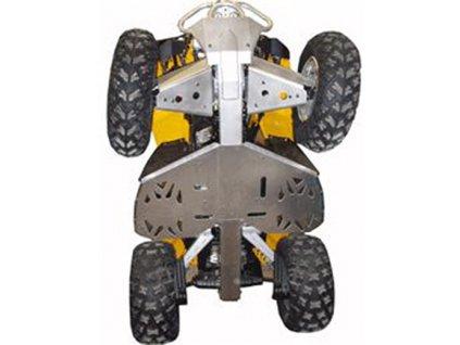 Ricochet ATV Can-Am Renegade 2007-11, Skidplate set