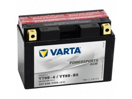 Varta 12V/8Ah - moto LF (YT9B-4/YT9B-BS)