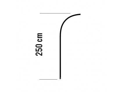 Rod Aluminum 250cm