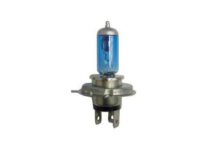 214 zarovka h4 halogenova modra 2v 100 90w p43t