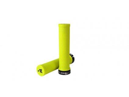 gripy lock-on R20, RTECH (neon žluté, 1 pár)