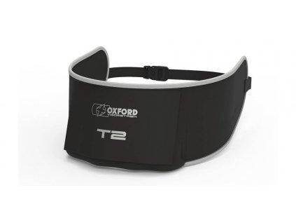 vak na plexi VisorStash T2 Deluxe polstrovaný s kapsou, OXFORD (černý/šedý)