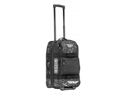 zavazadlo OGIO, FLY RACING - USA (černá/bílá)