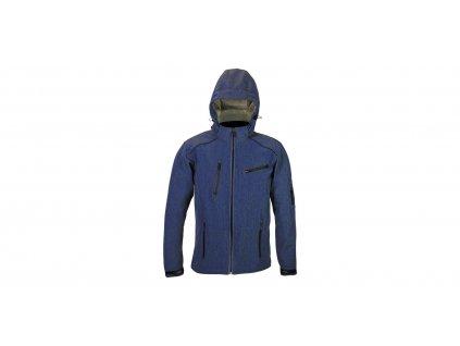 street softshell bunda SOFT, 4SQUARE - pánská (modrá)