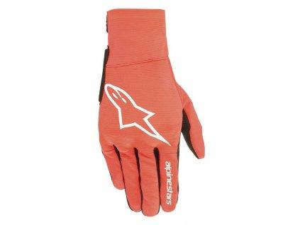 rukavice REEF 2021, ALPINESTARS, dětské (červená fluo/bílá/černá)