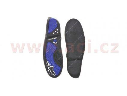 podrážky pro boty SMX 5/SMX 1, ALPINESTARS (černé/modré, pár)