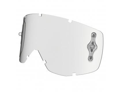 plexi pro brýle HUSTLE/TYRANT, SCOTT (čiré Antifog)
