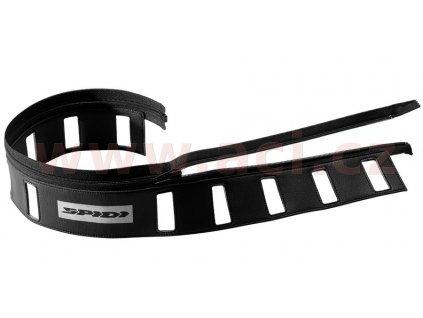 kožený pásek LEATHER MATCH BELT, SPIDI (černá, vel. 44-54)