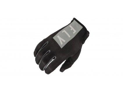 rukavice LITE 2021, FLY RACING dámské (černá/šedá)