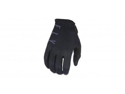 rukavice LITE 2021, FLY RACING dětské (černá/šedá)