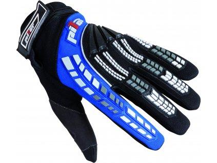 rukavice PIONEER, PILOT, dětské (černá/modrá)