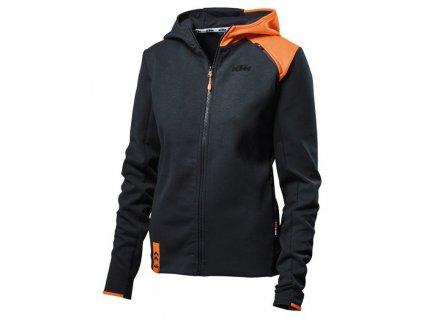mikina UNBOND KTM, dámská (černá/oranžová)