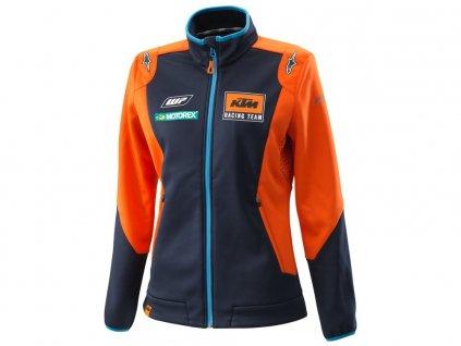 bunda REPLICA TEAM KTM , dámská (modrá/oranžová)