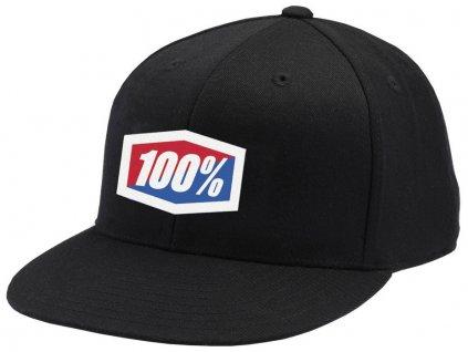 kšiltovka Essential Flexfit, 100% (černá)
