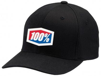 kšiltovka Classic Flexfit, 100% (černá)