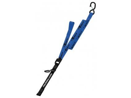 upínací popruhy s rychloupínací spojkou (šířka 38 mm / délka 2 m / nosnost 550 kg), RTECH (1 pár, modrý)