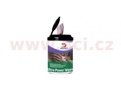 DREUMEX ULTRA POWER čisticí ubrousky na ruce 90 ks