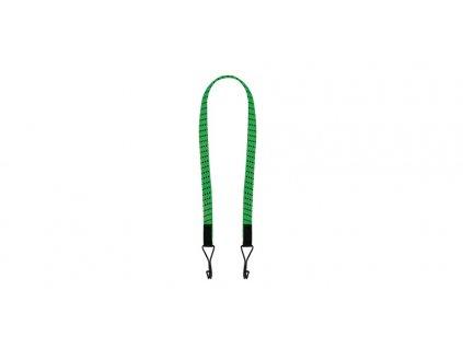 """gumicuk Twin Wire """"pavouk"""" plochý délka/šířka popruhu 900/16 mm se zakončeními pomocí drátových háků, OXFORD (zelený)"""