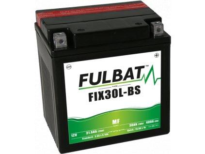 FULBAT Battery 12V/30Ah FIX30L-BS (YTX30L-BS) SEGWAY, CF MOTO, POLARIS, HARLEY DAVIDSON