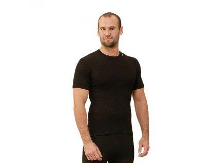 triko s krátkým rukávem /černá