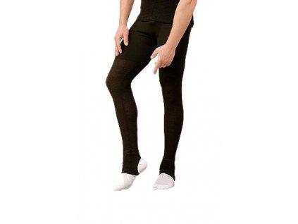 spodky s dlouhou nohavicí  /černá