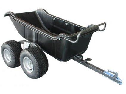 550kg poly dump cart web