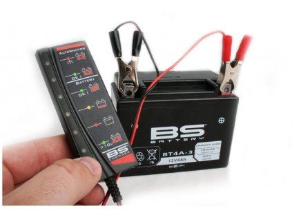 Tester baterie a alternátoru BT02