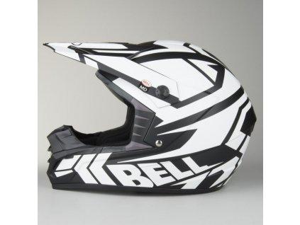 Motocrossová přilba Bell SX-1 Helmet Matt White, více velikostí
