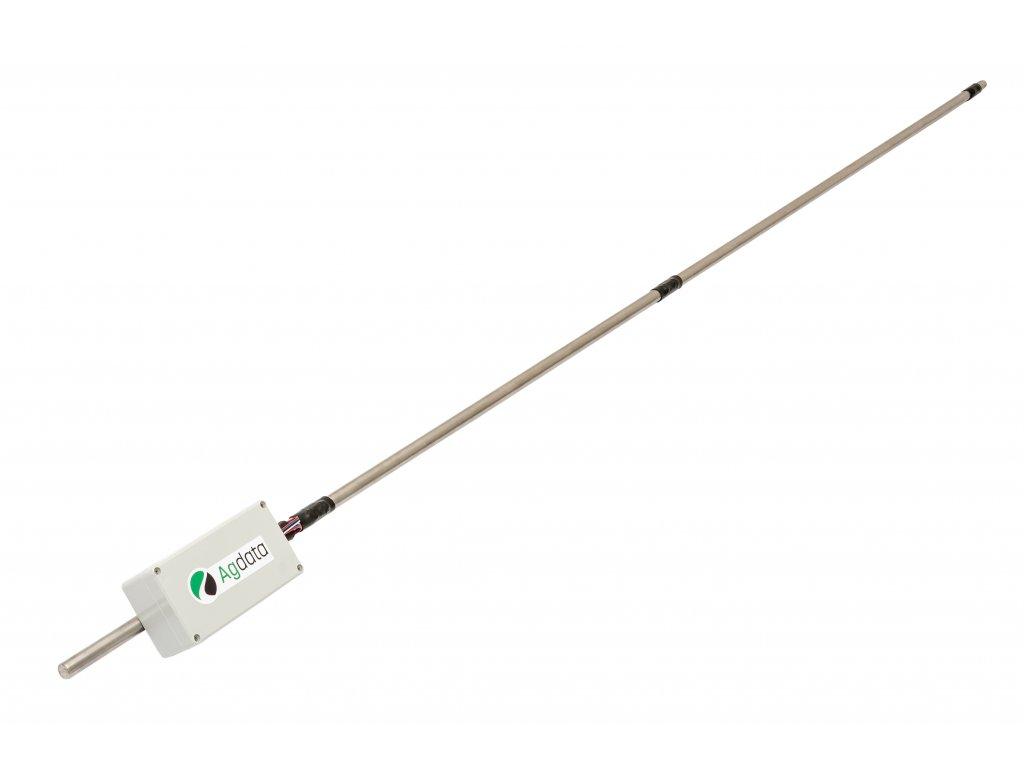 Tyčový senzor do obilí - 3 čidla teploty a vlhkosti – 210cm