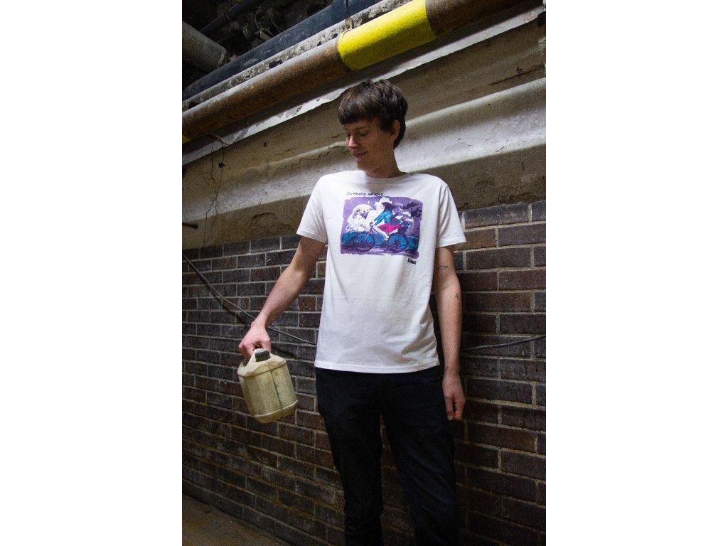 Pánské tričko Do práce na kole 2021 od ToyBox