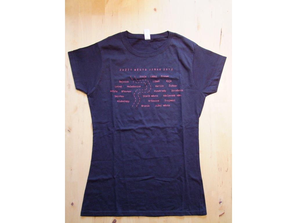 Dámské triko Zažít město jinak 2012