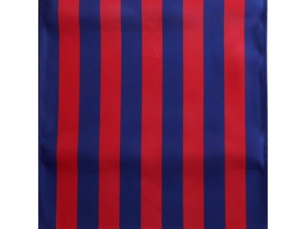 Lehátkovina pruh modro-tmavě růžová šíře 45 cm