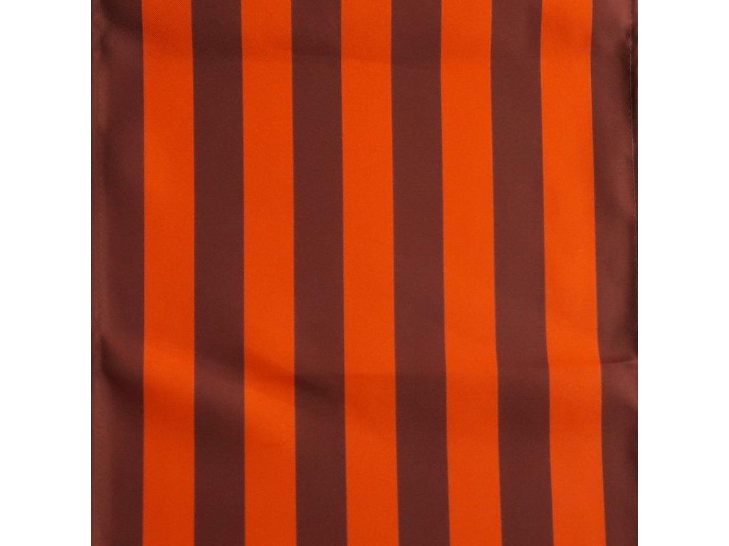 Lehátkovina pruh oranžovo-hnědý šíře 45 cm