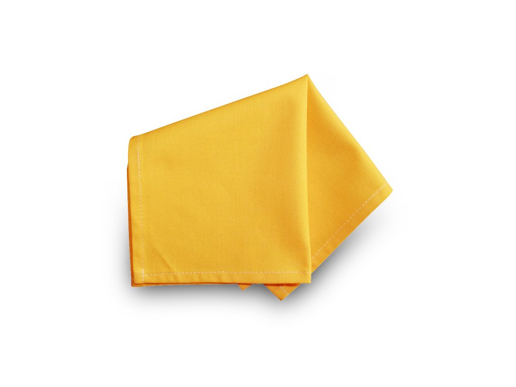 Prostírka 30x30 cm - UNI žlutá