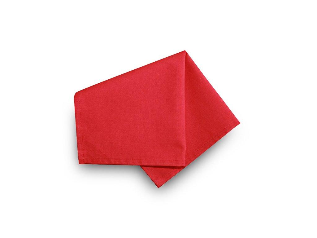 Prostírka 30x30 cm - UNI červená