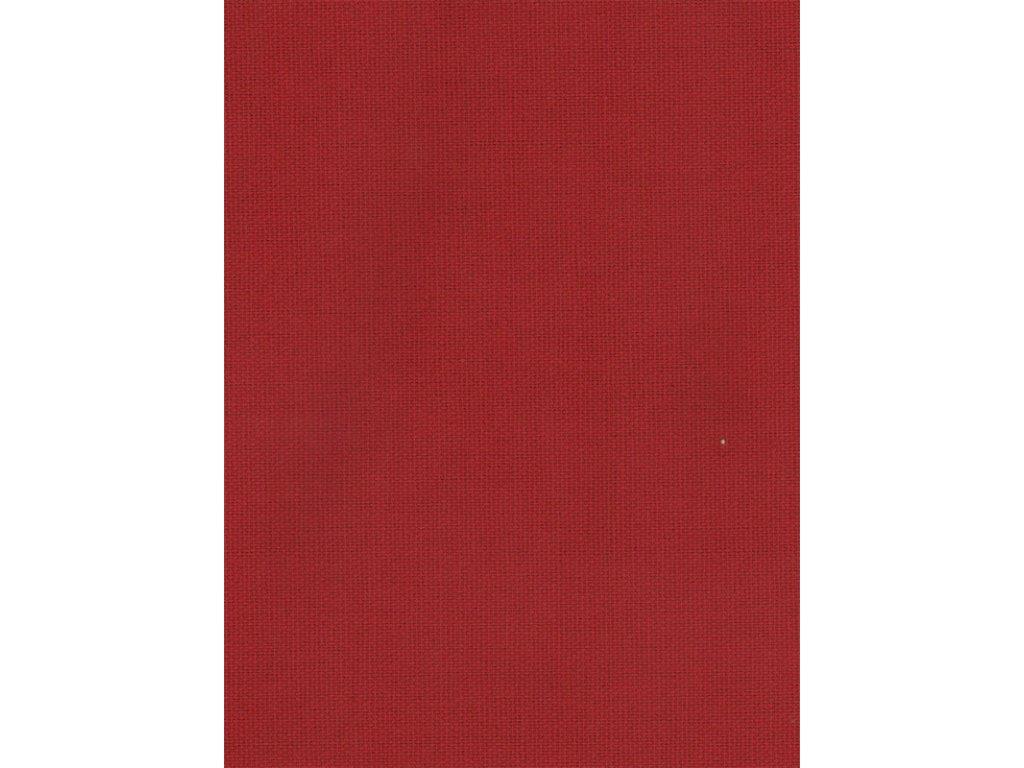 Ubrus červený uni