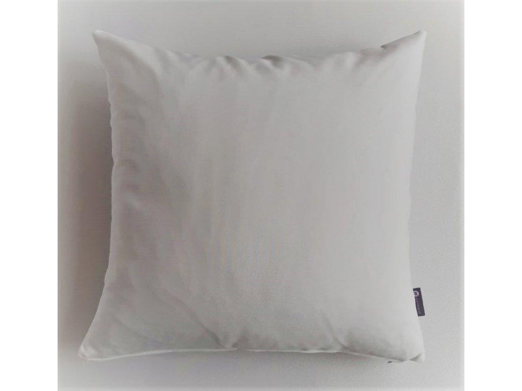 polštář a povlak bíllý