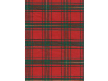 Ubrus  Vánoční kostka červená 140x120 cm