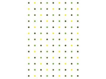 rw latky vzory puntiky zelene bila 0002