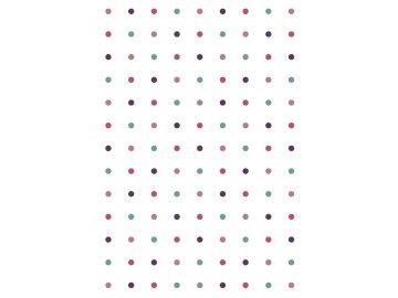 rw latky vzory puntiky fialova bila 0006