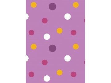 rw latky vzory puntiky fialova 0015 02