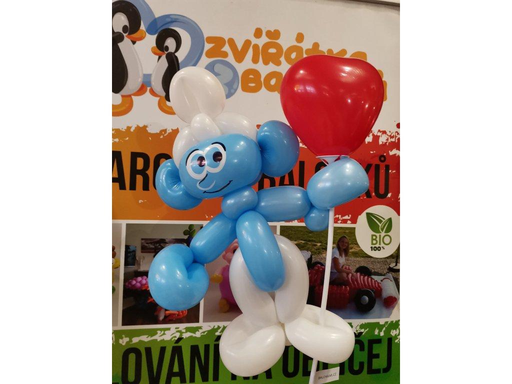 šmoula balonky hračka pro děti