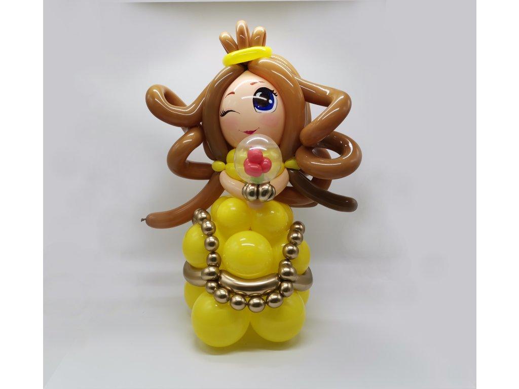 princezna z balónků hračka dárek pro děti